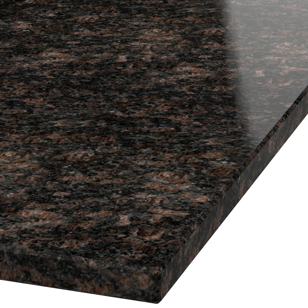 Platte 30mm stark Tan Brown Granit (poliert)