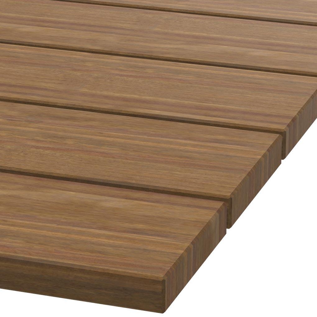 Platte 30mm stark Guariuba Holz