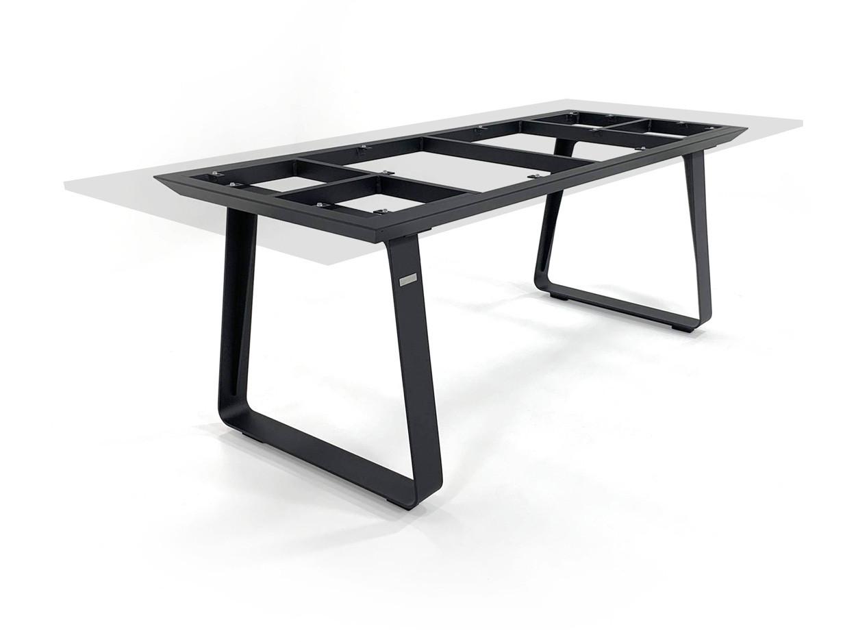 Tischgestell Elko alu charcoal