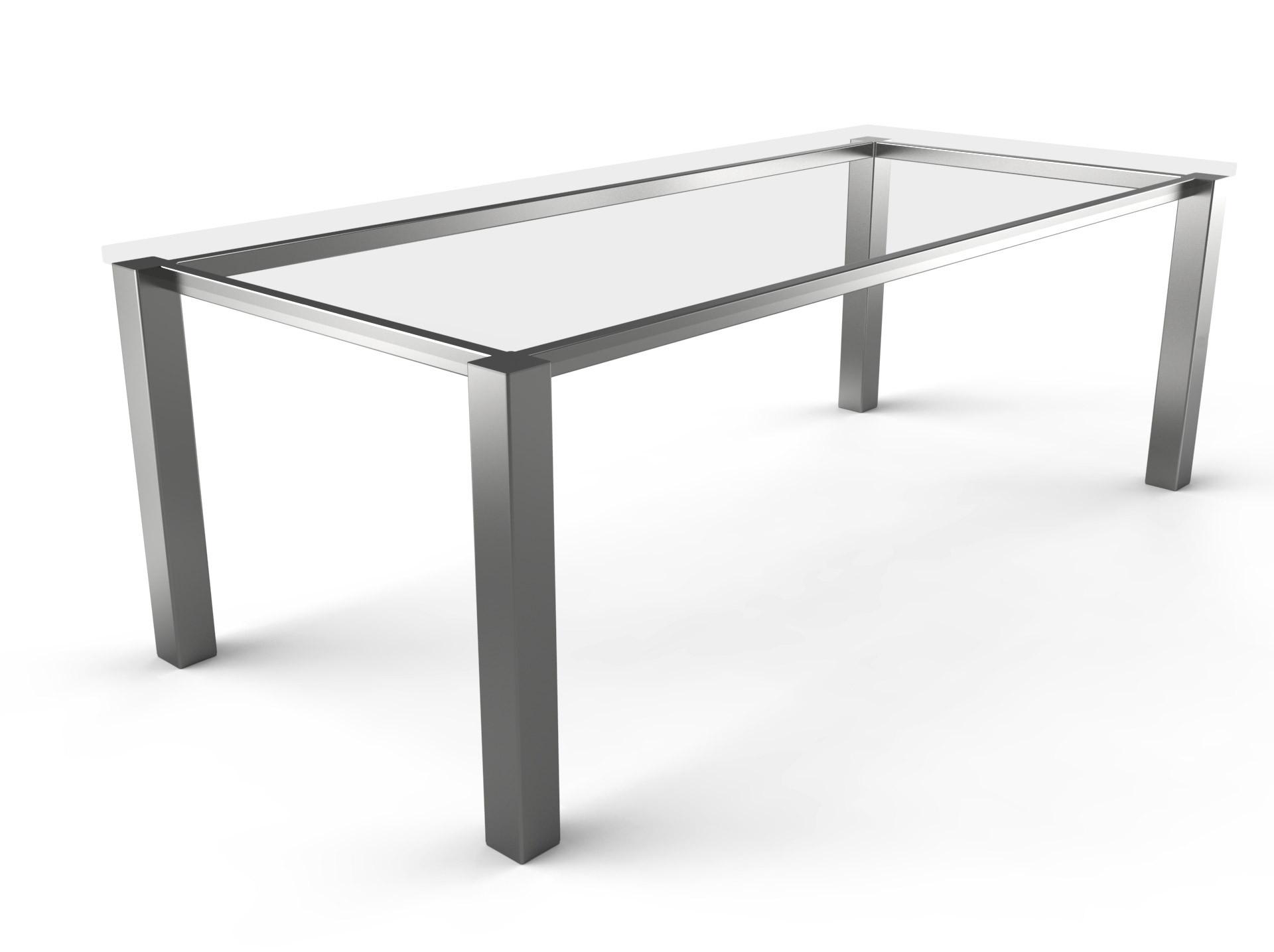 Tischgestell Standard Edelstahl