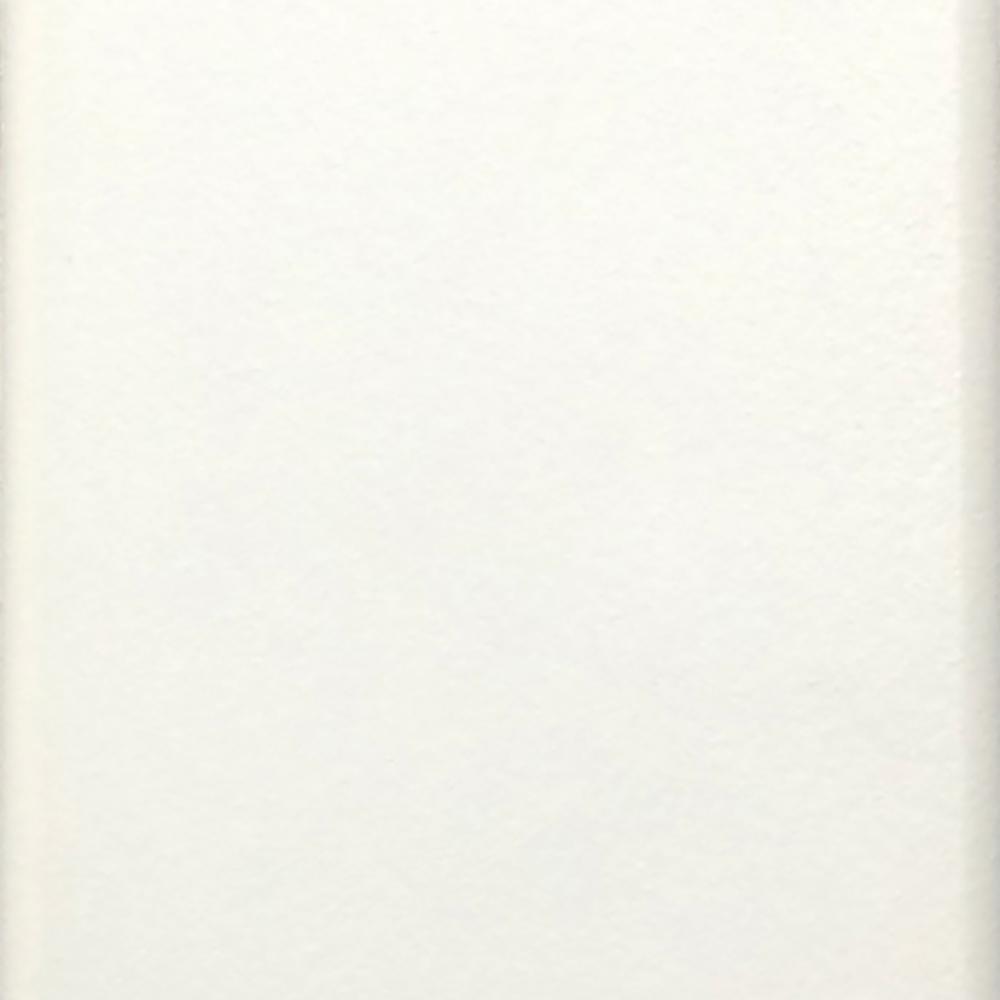 Weiß (matt, sandkornstruktur)